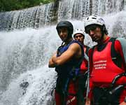canyoning on the cetina river